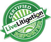 LiveLitigation Certified Reporter Testimonial